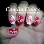 Flores em Vermelho e Branco!!!