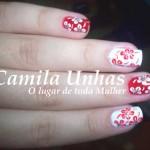 Flores em Vermelho e Branco!!! foto 2
