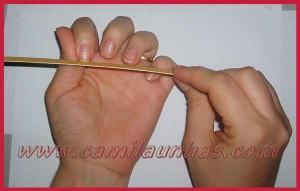 Lixando as unhas corretamente